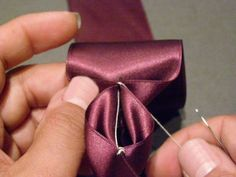 How to Make Ribbon Trim - Threads