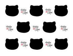 Hello Kitty Macaron Template plus Indulge with Mimi's Best Macaron Recipe