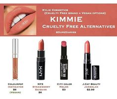 """WEBSTA @ dupediaries - What other dupes do you want to see? ----------------------------------------These are just a few alternatives I think would be close to the shade """"Kimmie"""" Regardless they're all super gorgeous and really comfortable. (Each of the products, besides """"Instigator,"""" transfer including """"Kimberly."""" Colourpop's """"Instigator"""" is an ultra matte I normally don't like, however oddly enough I find this shade more comfortable than other ultra mattes I've tried before)…"""