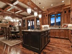 Kitchen by Cameo Homes Inc. in Park City, Utah