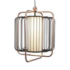 Buy Amara Jules Lamp - Black & Copper | Amara