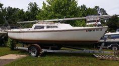 Used 1975 Catalina 22 ' Catalina Daysailer / Weekender, Chesapeake City, Md - 21915 - BoatTrader.com