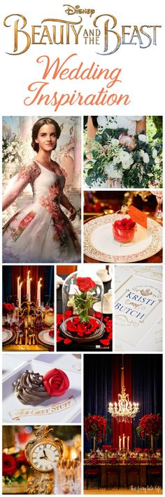 Disney Wedding Theme | Live-Action BEAUTY AND THE BEAST Wedding Inspiration