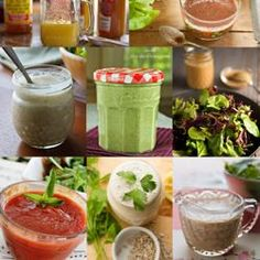 8 Oil-Free Vegan Salad Dressings - healthier than store bought and so flavorful!