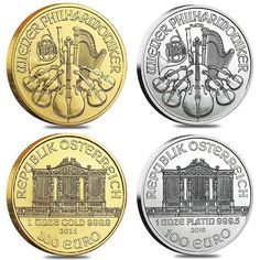 The Vienna Philharmonic is revered as one of the best symphonies in the world, with concerts and broadcasts which have wowed audiences since 1842! It is only fitting this beloved orchestra be featured in the design of the ever-popular 1 oz Austrian Philharmonic Coin. This unique offering is available in both Gold and Silver from Bullion Exchanges secure online web-store. Orders may also be submitted by phone at 800.852.6884. #gold #silver #bullionexchanges #preciousmetals #silverbullion…