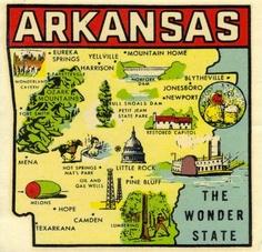 Ozarks Arkansas Map.17 Best Arkansas Maps Images Map Of Arkansas Arkansas Razorbacks