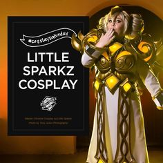 CosSLAY Saturday. An interview with cosplayer Little Sparkz LFG