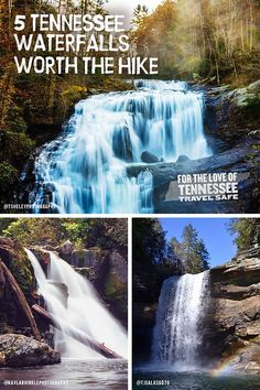 Vacation Places, Vacation Trips, Vacation Spots, Places To Travel, Travel Destinations, Vacation Ideas, Weekend Trips, Day Trips, Tennessee Waterfalls