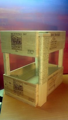 Bunk Bed Cat Condo with Scratcher by TansuTreasures on Etsy, $70.00 Do you really need to buy this? Easy do it yourself project.