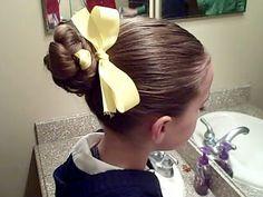 Wondrous Hair Buns Gymnastics And Buns On Pinterest Short Hairstyles Gunalazisus