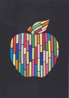 Jablíčka z proužků