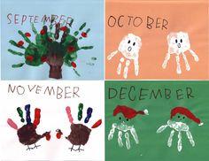 Handprint calendar part III