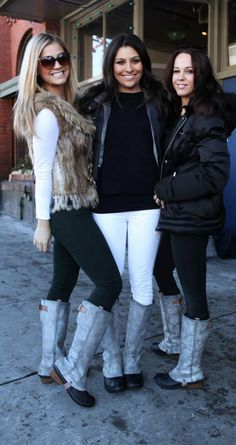 sorel boots spotted at the sundance festival #PinnedUp