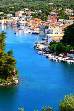 Paxos island Ionian Sea