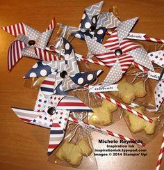Paper Pumpkin Pinwheel Party Kit Scottie Shortbread Treats