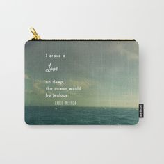 love quote, carry all, artist bag, travel