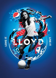 Pepsi invents a crossover between football and paintball - Publicité - Sport Sports Graphic Design, Graphic Design Posters, Graphic Design Inspiration, Sport Design, Poster Designs, Paintball, Sports Advertising, Advertising Design, Desgin