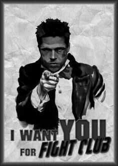 Fight club  This is great if you never seen fight club you should