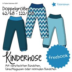 freebook - Kinderhose (62/68 - 122/128)
