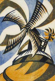 Sybil Andrews,   - Windmill