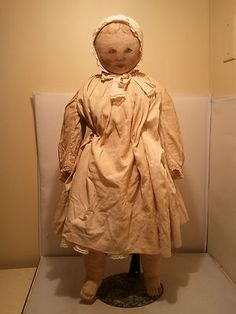 Rare Late 1800's Columbian Large Size Rag Doll 30 inches tall | eBay