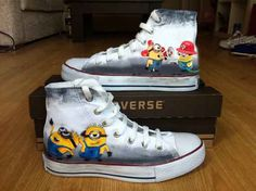Minion Shoes by denimtrend on Etsy, $70.00