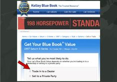 Kelley Blue Book Prices For Used Car Re And Trade In Values Html Autos Weblog