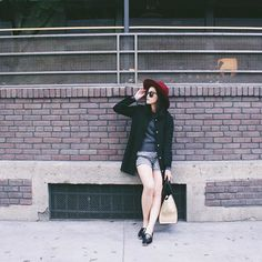 Michelle (@runwayonthego) Hipster vibe #ootd #lotd #wiw #fashionblogger