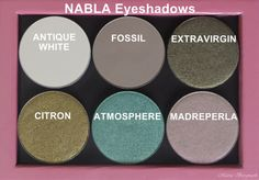nabla eyeshadow - Google zoeken Nabla Cosmetics, Indie Scene, Swatch, Eye Products, Hair Makeup, Eyeshadow, Make Up, Antiques, Beauty