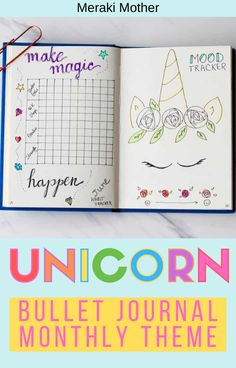 Looking for fun bullet journal themes for May? Get all the best unicorn themed ideas, inspiration and layouts for your monthly bullet journal spreads! Bullet Journal For Beginners, Bullet Journal Hacks, Bullet Journal Printables, Bullet Journal How To Start A, Bullet Journal Themes, Bullet Journal Spread, Bullet Journal Layout, Bullet Journal Inspiration, Journal Ideas