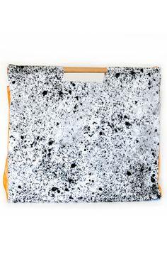 067414f67b handbag with natural pattern- wood handler Grandi Armadi