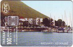 Βσιλική-Λευκάδας. (Μπροστινή όψη). 11/1998. (Τιράζ 200.000).