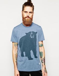 Penfield T-Shirt with Big Bear Print