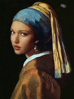 If Vermeer had a crush on Jessica Alba