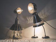 Déco récup : découvrez les OLNI d'Angèle Ridiguel