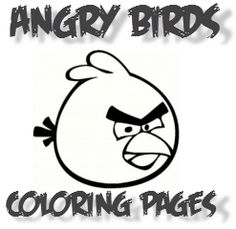 Find angry birds coloring pages that you can print directly from this page. Birds include the Original Red Bird, Kamikaze Yellow Bird, Multiplying...