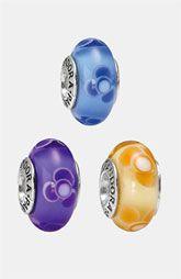 PANDORA Flowers for You Murano Glass Charm