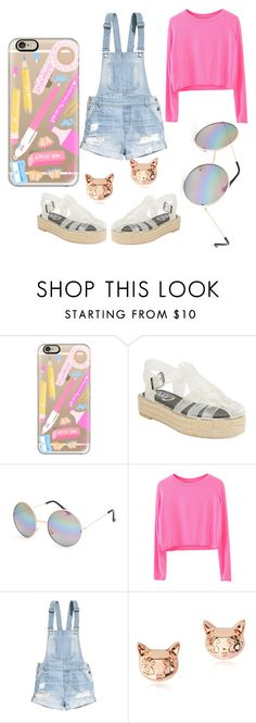 """""""Back to pre school"""" by edens-paradise ❤ liked on Polyvore featuring Casetify, Circus By Sam Edelman, Full Tilt, H&M and Marc by Marc Jacobs"""