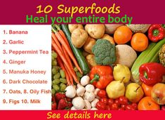 These natural healing foods are beneficial to relief stress and anxiety, constipation, blood pressure, diabetes, kidney stones, nausea, stomach problem,... - Health Pedia - Google+
