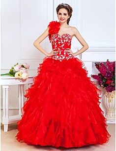 Prom+/+Quinceanera+/+Formal+Evening+/+Sweet+16+Dress+-+Ruby+...+–+USD+$+199.99