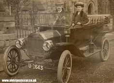 Ford Model T in Yorkshire.---1904-1921