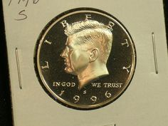 1968 D Uncirculated John Kennedy Half Dollar With DIY Slab Combined Shipping