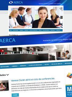 Aerca: nueva web. Go responsive! http://aerca.org.ar/
