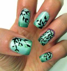 cute nail art designs for teens 2014