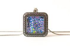 Naszyjnik z łubinem / Lupin necklace - Art-Of-Nature