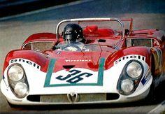 Andrea de Adamich Alfa Romeo 33T