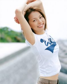 香里奈 ツル腋フェチ画像 Yuka, Base Ball, Cosplay, Sexy, Crop Tops, Shoulder, Model, Collection, Fashion