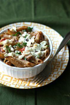 #Recipe: Mediterranean Mac and Cheese