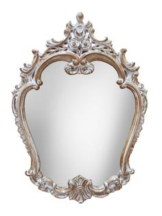17-0360 зеркало настенное овальное в резном багете
