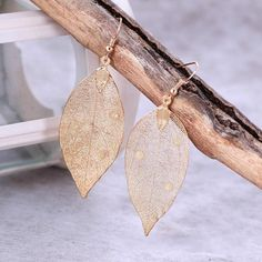~ Drop Earrings ~ Leaf Earrings ~-BeauBlue Boutique